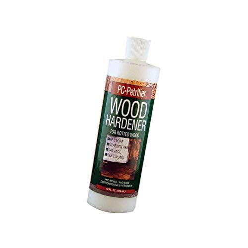 PC Products PC-Petrifier Water-Based Wood Hardener, 16oz, Milky White 164440, 16-Ounce - 5 Pack