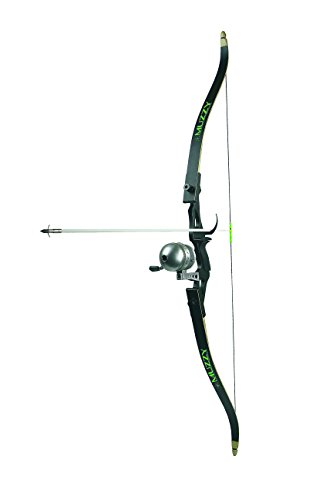 Muzzy 7505 Addict Bowfishing Kit: Recurve Bow, New Reel with 150# line