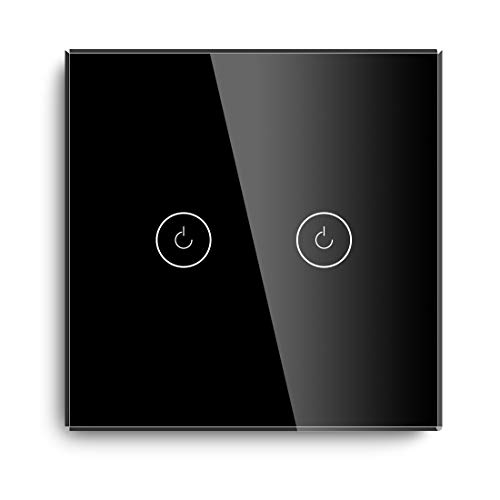 BSEED Interruptores de luz de pared Smart WiFi Touch Sensor (se...