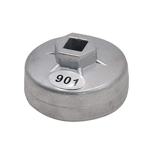 Koojawind Attrezzo Per Chiave Da 65 Mm Con Attacco Quadrato Da 65 Mm Per Chiave A Filtro Per Tappo Olio 14 Flauti In Alluminio