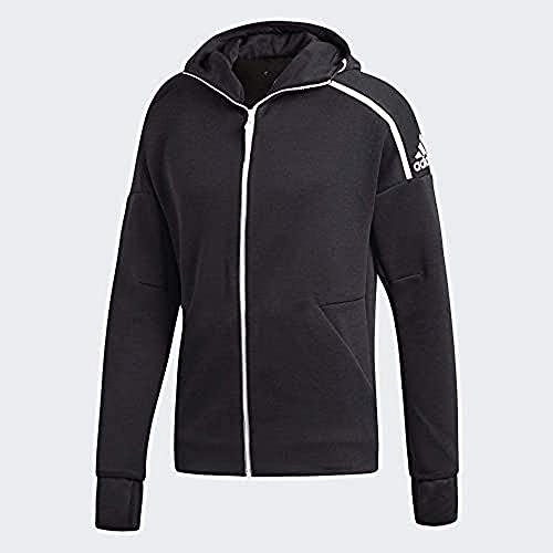 adidas Herren Hoodie ZNE Fast Release, Zne Heather/Black, XL, DM5543