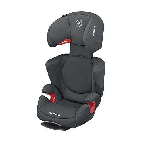 Maxi-Cosi Rodi AirProtect Kindersitz, Autositzerhöhung mit hoher Rücklehne, 3,5 - 12 Jahre, 15 - 36 kg, Authentic Graphite, 8751550110
