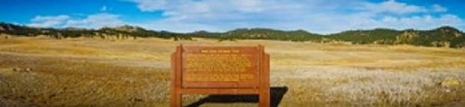 Posterazzi Signboard at Wind Cave Park Black Hills National Forest South Dakota USA Poster Print (20 x 5)