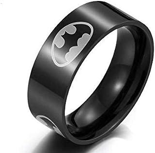 Ring Batman Black Men Size 11