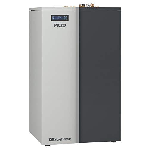 Nordica Extraflame PK 20 - Caldera de pellets (20 kW, control Wi-Fi, bomba PMW)