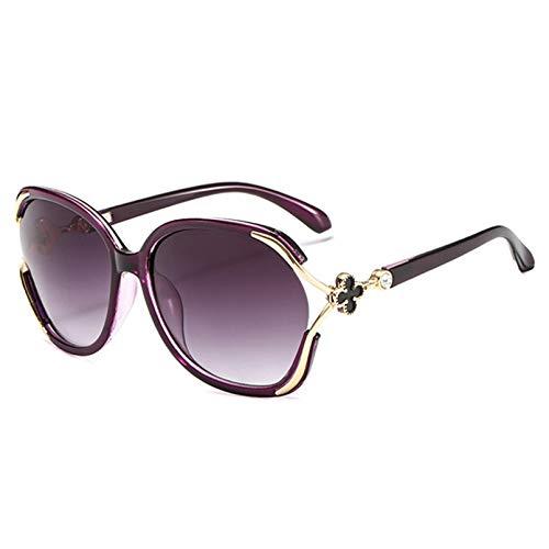 YTYASO Gafas de Sol Redondas Clover Gafas de Sol para Mujer Gafas de Sol para Mujer/Hombre