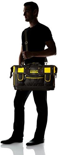 Stanley FatMax Werkzeugtasche / Transporttasche (50x30x29cm, schlagfester Boden, Aufbewahrungstaschen im Inneren, große Öffnung für leichten Zugang, aus robustem Material) FMST1-71180 - 7