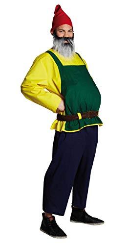 Rubie\'s Gartenzwerg Zwergenkostüm Gnomanzug Gnom Zwerg Kostüm für Herren