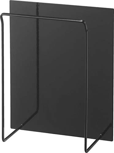 山崎実業 タワー マグネットフリーザーバッグホルダー ブラック 約W19XD10XH23.5cm ポリ袋収納 マグネット ティッシュケース 5049