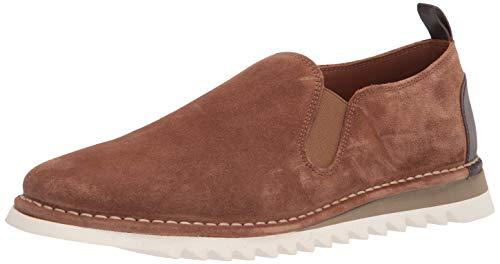Donald J Pliner Men's Sneaker Moccasin, Brown, 11