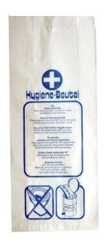 Hygienebeutel aus Papier 5 x 100 Stück