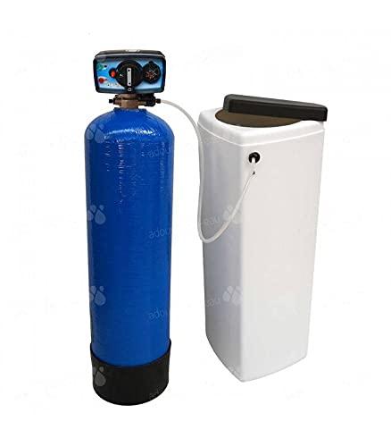 Adoucisseur d'eau bi bloc 20L Fleck 4600 MC eau chaude