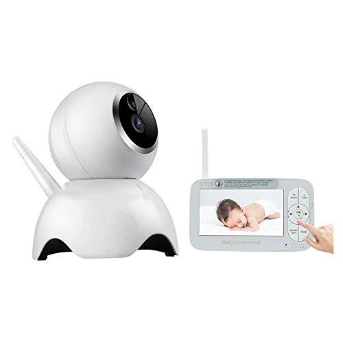 SSZZ tweeweg-intercominstallatie, intelligente baby-bewaking op afstand, 1080p met draadloze camera-spraakmonitor, infrarood nachtzicht bewegingsdetectiealarm