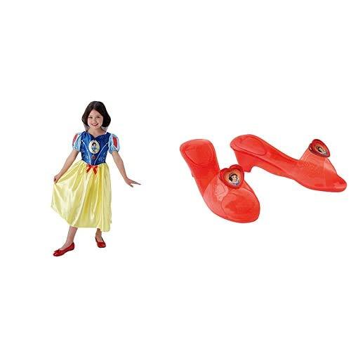 Rubies Disfraz Infantil Oficial De Disney De Blancanieves + Princesas Disney - Zapatos De...