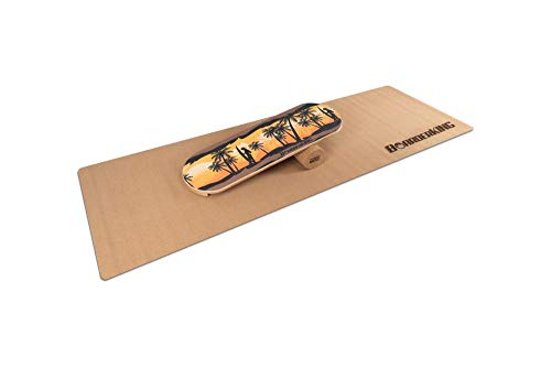 BoarderKING - Tabla de equilibrio para tabla de surf Hawaii, 100 mm (cork)