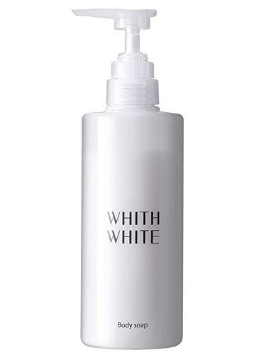 無添加 ボディソープ フィス ホワイト 【 エレガントフローラルのいい香り 】 保湿 ボディーソープ 「 泡で黒ずみ さっぱり ボディシャンプー 」「 ヒアルロン酸 コラーゲン セラミド 配合」450ml