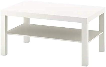 Ikea Lack - Mesa de Centro (90 x 55 cm), Color Blanco: Amazon.es: Hogar