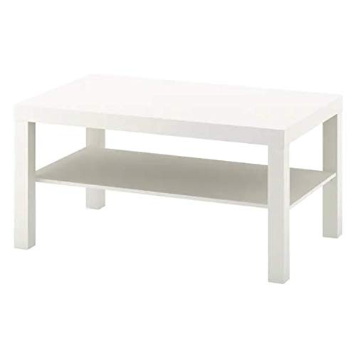 Ikea Lack - Mesa de Centro (90 x 55 cm), Color Blanco ✅