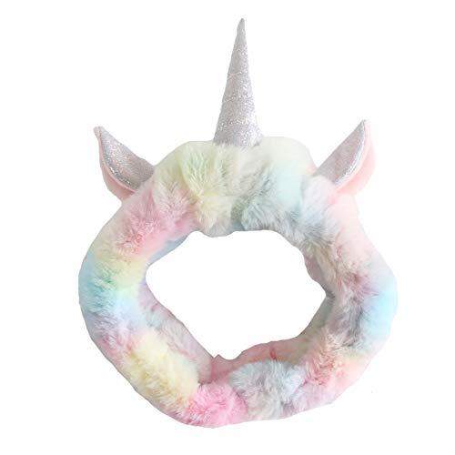 Haarband eenhoorn eenhoorn pluche meisje haaraccessoires hoofdband bont roze kinderen eenhoorn 1