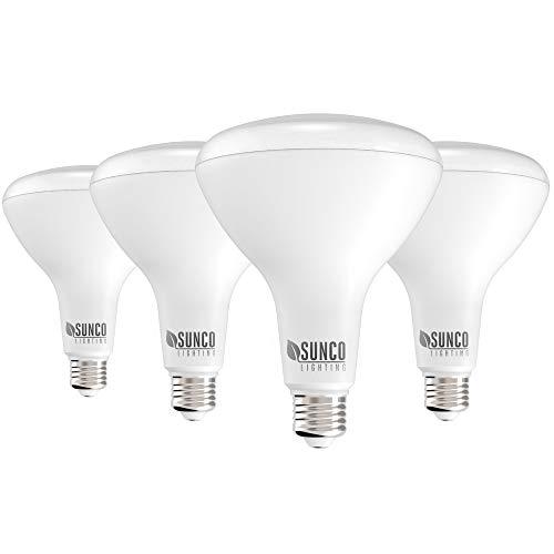 Sunco Lighting BR40 LED Light Bulbs, Dimmable...