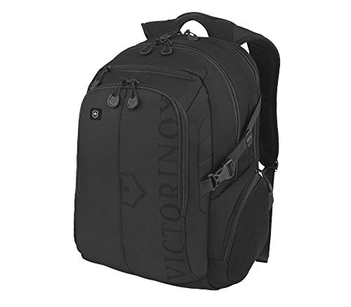 Victorinox VX Piloto de Deporte Mochila para portátil, Black/Black Logo (Negro) - 311052