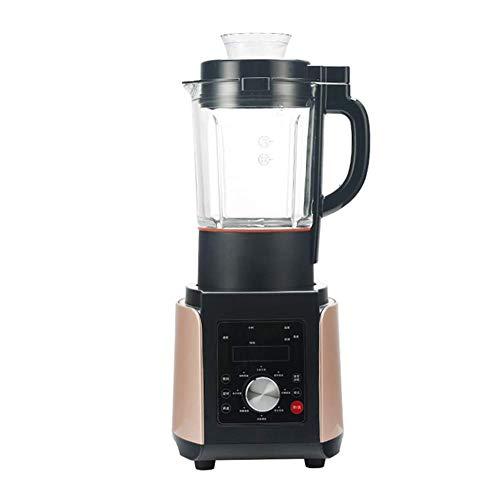 Bdesign Exprimidores domésticos Máquina de Jugo Crudo de Gran Calibre Exprimidor doméstico automático de Baja Velocidad Máquina Comercial de Frutas y Verduras