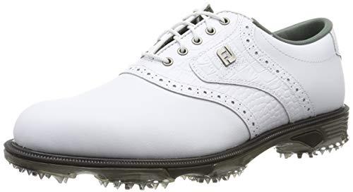 Footjoy Herren DryJoys Tour Golfschuhe, Weiß (Blanco 53700), 42.5 EU