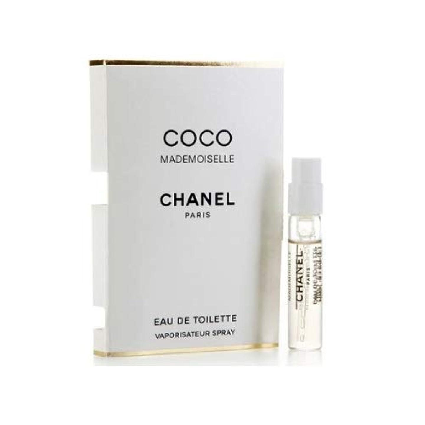 ポスター哲学者本質的にシャネル ココ マドモアゼル EDT スプレー 1.5ml ミニ香水 CHANEL