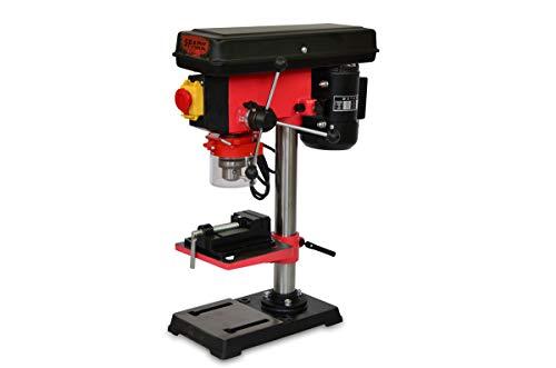 Spark - Perceuse A Colonne 500W, 220V, 12 Niveaux De Vitesse, Hauteur 610mm, 400-2500 Tr/Min, Diamètre De Perçage Maximum 16mm