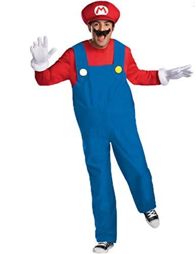 Generique - Déguisement Mario Deluxe Adulte