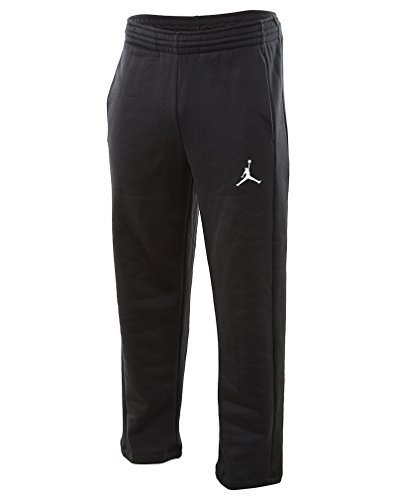 Nike Mens Jordan Flight Basketball OH Fleece Sweatpants Black/White 823073-010 Size X-Large
