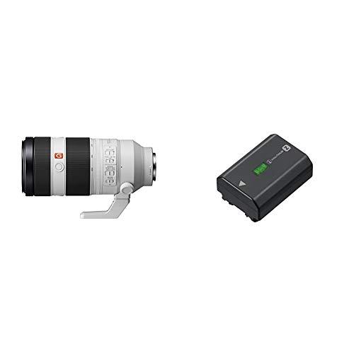 Sony FE 100-400mm f/4.5-5.6 GM OSS   Vollformat, Super-Teleobjektiv, Zoom Objektiv & NP-FZ100 Akku (InfoLITHIUM-Akku Z-Serie, 7,2V/16,4Wh (2280 mAh)) schwarz