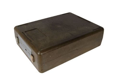 Preisvergleich Produktbild NATO Transportkiste II Munitionskiste Kunststoff oliv gebraucht 41, 0 x 30, 0 x 12, 0