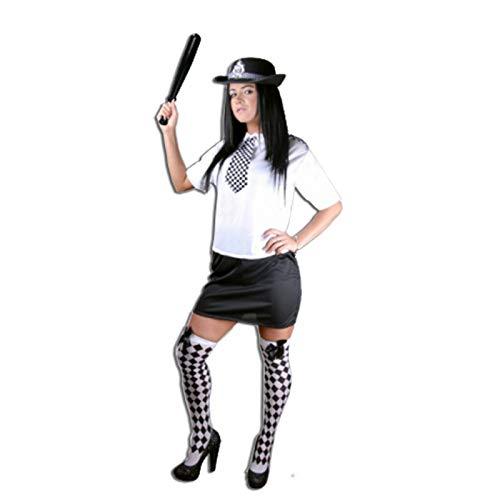 Polizistenkostüm für Damen, Polizistin, Uniform, Kostüm Gr. 36-38, Asip