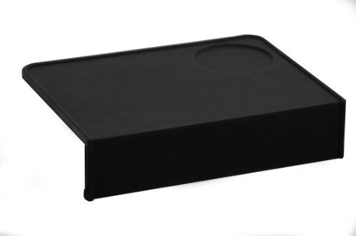 Joe Frex, Concept-Art Tamping Matte, Stützteppich für Siebträger, Barista Zubehör Schwarz L 20 x 15 x 4,5cm
