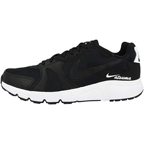 Nike Atsuma - Zapatillas de correr para hombre, color Negro, talla 42 EU