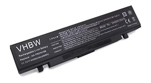 vhbw Li-ION Batterie 4400mAh (11.1V) pour Ordinateur Portable, Notebook Samsung X60 XIH 2300, X60-CV01, X60-CV03, X60-CV06, X60-CV08 comme AAPB2NC6B.