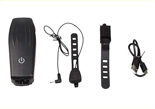 Rennradbeleuchtung LED Fahrradbeleuchtung USB-wiederaufladbare Fahrradfrontbeleuchtung wasserdichte Fahrradbeleuchtung Fahrradbeleuchtung Sicherheit für die Nacht