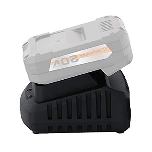 DELTAFOX Schnellladegerät - für Akkus 18V (max. 20V) 2.0 Ah und 4.0Ah
