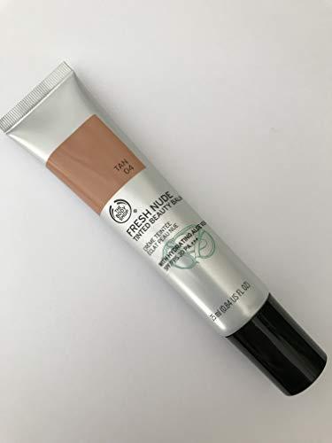 The Body Shop Fresh Nude BB Cream Tan 04 25 ml – getönter Schönheitsbalsam mit feuchtigkeitsspendender Aloe Vera LSF oder FPS 30 PA+++