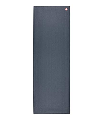 Manduka PROlite Yoga Mat – Premium 4.7 Thick Mat, Lightweight, High Performance Grip, Support and Stability in Yoga, Pilates, Gym, Fitness - Standard, 71 Inches, Thunder Color