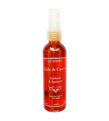 Huile de Beauté Carotte 100 ml