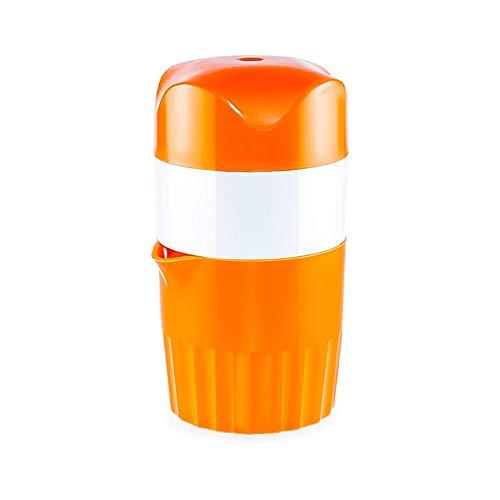Handmatige Sapcentrifuge Manual Juicer met zeef en Container Multifunctionele Orange Lemon Lime Druk op snelle en effectieve Juice Extraction Gemakkelijk te Reinigen en Wide Application