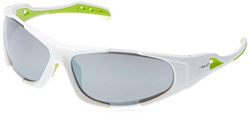XLC Lunettes de Soleil Sulawesi SG – C10 Taille Unique Blanc/Vert