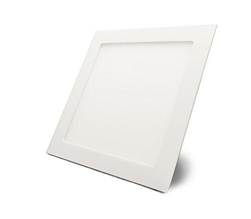 LED Panel, quadratisch mit 18W Leistung, Neutralweiß - Einbau - Unterputz ECONOMY