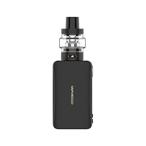 Vaporesso Gen Nano Box Kit de cigarrillo electrónico 2000mAh 3.5ML Kit completo - Tabaco San sin nicotina (Negro)