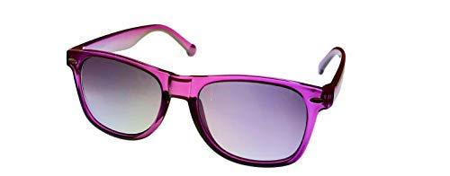 Converse H010 - Gafas de sol rectangulares de plástico para hombre, color morado