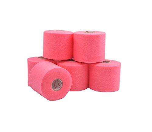 Mueller M-Wrap®   6 Rollen   6,9 cm x 27,4 m   Unterzugbinde   Verschiedene Farben   Untertape (Pink)