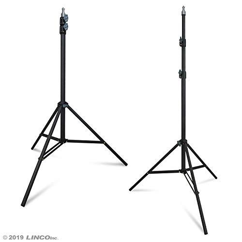 PBL Light Stands 6ft Studio Photo Video Set of 2 Steve Kaeser Photographic Lighting