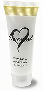 Shampoo & Conditioner 50 PACK 30 ml Individual TUBES -Travel Bath Amenities for Hotels, Motels, Resorts, Guests Toiletries, Bulk Discount Price
